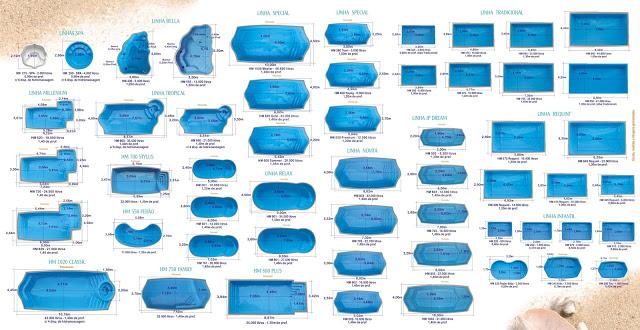 Ponto da piscina for Catalogo de piscinas